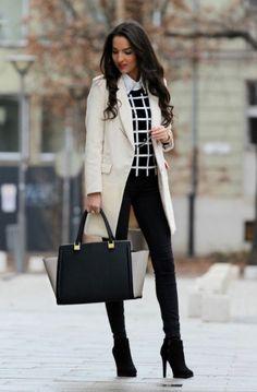 15 Outfits para oficina que te darán muchísima personalidad d7773bfc6cb2