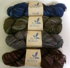 Win 4 skeins of Alp Royale Yarn from Feza Yarns in AllFreeKnitting's latest giveaway!