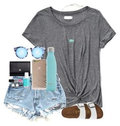 """hope u had a s'well day ;)"" by graciegerhart7 ❤ liked on Polyvore featuring Abercrombie & Fitch, Birkenstock, S'well, Quay, Tory Burch, Essie, Sonix, Charlotte Russe, MAC Cosmetics and Kendra Scott"
