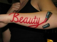 A selection of awesome vanity tattoos to inspire you today! Dope Tattoos, Girly Tattoos, Trendy Tattoos, Body Art Tattoos, Sleeve Tattoos, Tattoos For Women, Tatoos, Tattoo Arm, Real Tattoo