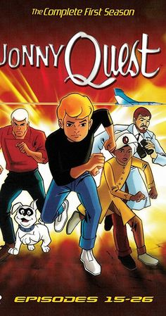 Created by Doug Wildey. With Mike Road, Tim Matheson, Don Messick, Danny Bravo. The Quest family and their bodyguard investigate strange phenomena and battle villains around the world. Tim Matheson, Jonny Quest, Cartoon Caracters, Goof Troop, Cartoon Crazy, Three's Company, Home Movies, Lost City