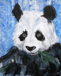 the Panda Art Print by christinaLoraine | Society6
