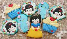 (1) Snow White! #DearSweetFavorites Branca de Neve!... - D. Sweet - Handmade Creative Cookies