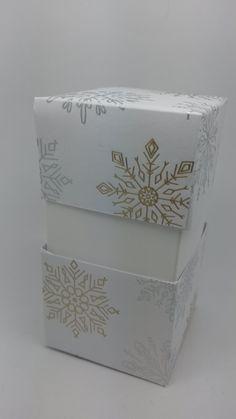 Hallo Ihr Lieben! Hier also ist sie..... Die Anleitung zur Box der anderen Art :-)))) Auf geht's: Für das Unterteil benötig...