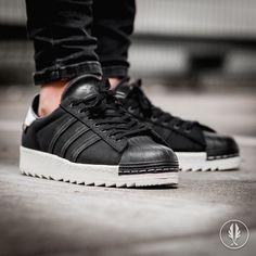 """Adidas Superstar 80s Cordu"" Core Black | US 8.0 - 11.5 | 129.95 | Now Live @afewstore | @adidas @adidas_de @adidasoriginals @adidas_gallery @teamtrefoil #Adidas #Superstar80s #Cordura #teamafew #klekttakeover #womft #sneakerheads #sadp #sneakersaddict #hypebeast #highsnobiety #modernnotoriety #basementapproved #sneakernews #snobshots #hskicks #hypefeet #kicksonfire #complexsneakers #sneakerfreaker #sneakerfreakergermany #praisemag #thedropdate #everysize"