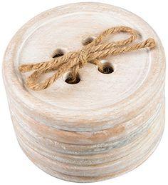 Sass y madera Belle botón de posavasos de madera, juego de 6, marrón Sass & Belle http://www.amazon.es/dp/B00OBRQZRA/ref=cm_sw_r_pi_dp_KpTGwb0JECB9M