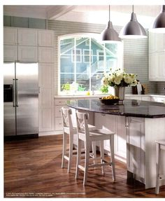 Look at that window! Love the whole kitchen