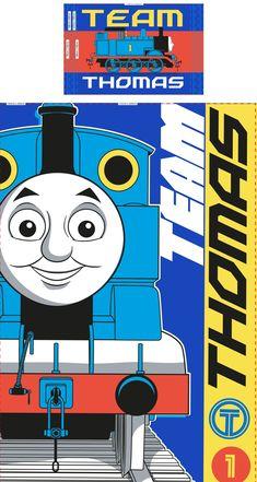 Dekbedovertrek Thomas: 140x200/50x75 cm - Dekbedovertrek Thomas: 140x200/50x75 cm