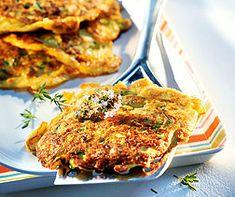 Zucchini-Piccata Healthy Dishes, Healthy Recipes, Zucchini, Tandoori Chicken, Lasagna, Quiche, Cauliflower, Easy, Low Carb