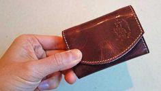 革製なのにカードサイズのミニマルな財布「小さいふ」を買ってみた Blog, Blogging