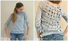 T-shirt weave