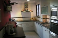 Numancia, refurbished kitchen in Madrid.
