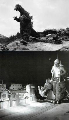 Godzilla BTS