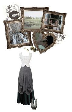 """""""Wuthering Heights"""" by marialay ❤ liked on Polyvore featuring Alaïa, GRIZAS and Bailey"""