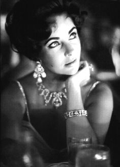The beautiful Elizabeth Taylor