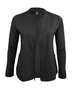Scrub Jackets, Work Jackets, Spandex Material, Suits You, Scrubs, Zip Ups, Your Style, Warm, Long Sleeve