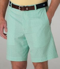 8a3274c9f8 Southern Tide Seersucker Shorts-Gingham Flat Putting Green | #mondouomo  #naples #fashion