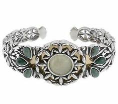 Carolyn Pollack Sterling Sandia Sage Cuff Bracelet