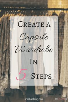 A capsule wardrobe can make your life easier by saving you time, money, and space in your closet. And it will lessen the stress of deciding what to wear! Find out how to create a capsule wardrobe, as well as what a capsule wardrobe is and the benefits of Minimalist Wardrobe, Minimalist Fashion, Minimalist Lifestyle, Minimalist Style, Minimalist Living, Wardrobe Sets, Mom Wardrobe, Wardrobe Basics, Fall Wardrobe