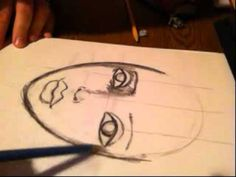 How to draw a pretty face by Lisa Ferrante - YouTube