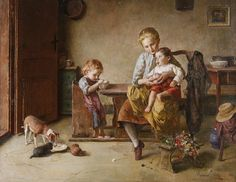 Edmund Adler (German, 1871-1957), Feeding the Young - The Curator's Eye