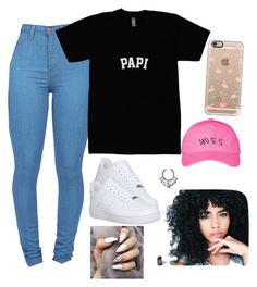 """""""Untitled #81"""" by baby-boogaloo ❤ liked on Polyvore featuring VidaKush, October's Very Own, Casetify and NIKE"""