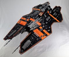 So I had extremely limited time to do a SHIP this year (I started this the morning of the 29th) but I really wanted to participate in SHIPtember cuz I love this challenge, so here's the best I could do in 2 days... 117 studs 4th SHIP I've always done Minigfig Scale ships before, and since i was short on time I figured I'd try micro scale this time