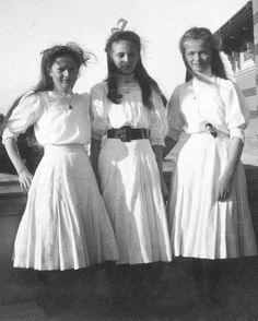 With Irina. 1909.