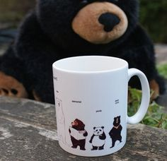 Bear family mug (including the pb!)