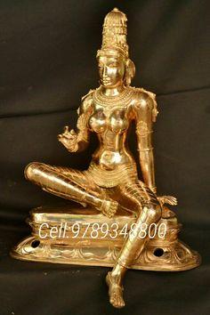 Saraswati Statue, Shiva Statue, Brass Statues, Amman, Temple, Indian, Sculpture, God, Gallery