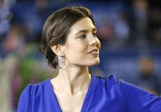 Charlotte Casiraghi is seen during the podium ceremony at the 2013 Monaco International Jumping as part of Global Champions Tour on June 29, 2013 in Monaco.