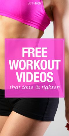 FREE workout videos to get you back in shape and ready for summer!