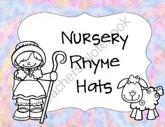 Nursery Rhyme Hat Set from magazine21 from magazine21 on TeachersNotebook.com (37 pages)  - This is a nursery rhyme hat set.