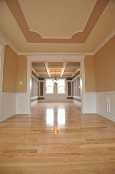 Can you fill a room? Can you imagine how this would look with your imagination? Or do you prefer a home to be staged? Plaster Ceiling Design, Molding Ceiling, Ceiling Trim, Home Ceiling, Ceiling Decor, Moulding, Simple Ceiling Design, Pop False Ceiling Design, Ceiling Design Living Room