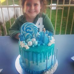 When your daughter is the happiest customer of all. This little Oompa is the reason I love baking ���� This years request was a Frozen drip cake with lollies. Loving the Elsa figurine and candles from my beloved #kmart . #sydneybased #sydneysweets #sydneyfoodie #frozen #birthdaycake #birthday #frozenfever #dripcake #four #elsa #happiness #sydneyeats #customersatisfaction #happycustomer #lollyworld #kmartkids #kmart #lollies http://misstagram.com/ipost/1546164721623135943/?code=BV1FJ9UlnbH