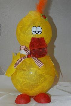 Bastelset Kücken Krümel , aus Acylkugeln, zum Befüllen für Ostern, als besondere Geschenkverpackung , für Geldgeschenke oder lustige Kinderzimmer - Lampe mit Bastelanleitung Bastelset http://www.amazon.de/dp/B007B280MU/ref=cm_sw_r_pi_dp_4syavb0X2EW2M