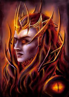 Sauron by RobinPenson on deviantART