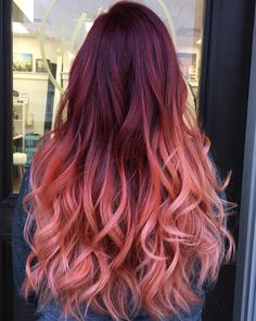 A new season is the perfect time to shake things up by refreshing your hair color. Hair Dye Colors, Cool Hair Color, Cabelo Rose Gold, Dye My Hair, Hair Painting, Crazy Hair, Gorgeous Hair, Hello Gorgeous, Pink Hair