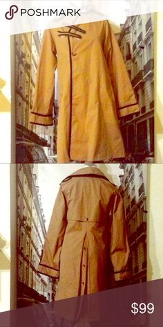 Saks Fifth Avenue trench coat. 50% off! Beautiful trench coat in vintage condition. Size medium. Check my other listings! Saks Fifth Avenue Jackets & Coats Trench Coats