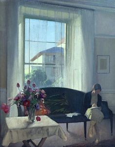 George Clausen, The Quiet Room, ca.1929