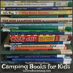 House of Burke: Camping Books for Kids Time Activities, Summer Activities For Kids, Holiday Activities, Summer Kids, Learning Activities, Kids Learning, Camping With Kids, Go Camping, Mother Goose Time