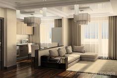Фото Дизайн квартиры-студии для застройщика, Москва, Михаил Калинин, фото 1005484