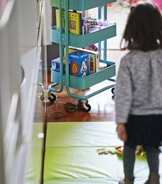 One home, three generations Ikea Raskog, Inspirational Blogs, Step Inside, First Home, Best Memories, Playroom Ideas, Furniture, Kids Rooms, Cart