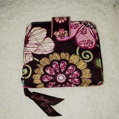 Vera Bradley Wallet Size 4 by 4 1/4. Zip closure. Vera Bradley Bags Wallets