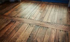 Timber flooring can add that rich and warm lookto your home's interiors. They're great for kids, for barefoot comfort compared to walking on tiled concrete floors. They're also low maintenance thancarpeted floors.If you love the idea of timber flooring, but don't have the budget for it, then a DIY Pallet Flooring could be the solution you're looking for! Pallets are generally inexpensive or free. Theymay not look attractivebut there are a lot of things that you can do...