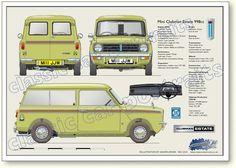 Mine had 'Mr Bump' painted on a dent and I loved it! My old Mini Clubman Estate 1969-80