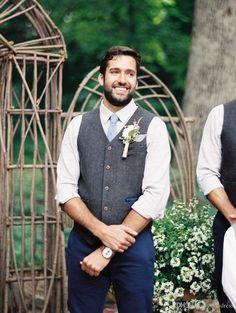 Vests Generous British Style Vintage Brown Wool Herringbone Groom Vests Formal Grooms Wear Suit Vest Mens Wedding Tuxedo Waistcoat Plus Size Suits & Blazers