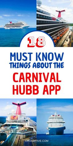18 Must Know Things About The Carnival Hub App If your going on a cruise vacation with Carnival Cruise Line then you'll want to use the popular Hub App. Let's find out more. Cruise Travel, Cruise Vacation, Vacation Trips, Vacation Destinations, Honeymoon Cruise, Disney Cruise, Vacation Humor, Vacation Quotes, Shopping Travel
