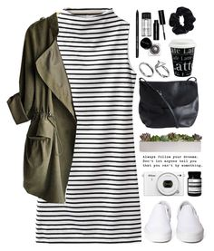 """COLLEGE- read!"" by tania-maria ❤ liked on Polyvore featuring Pieces, Könitz, Bobbi Brown Cosmetics, Aesop, Pilgrim, American Apparel and Vans"