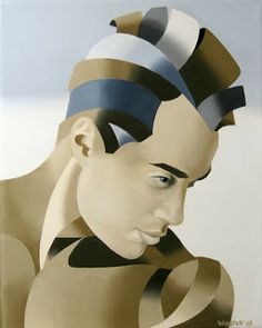 Daily Painters of California: Mark Adam Webster - The Bronze Age Abstract Oil Painting Series #3